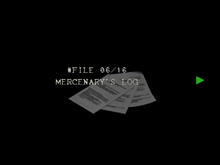 Re264 EX Mercenary's log