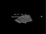 Le carnet du mercenaire