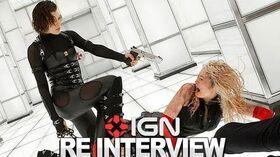Resident Evil Retribution 3D - Milla Jovovich & Cast Interview