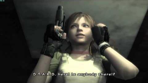 Resident Evil The Umbrella Chronicles all cutscenes - Train Derailment 1 opening