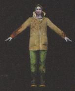 Degeneration Zombie body model 13