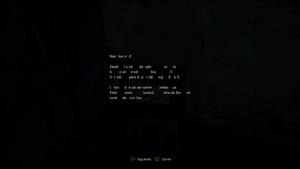 Documento secreto destrozado