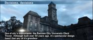 Raccoon University Clock Tower