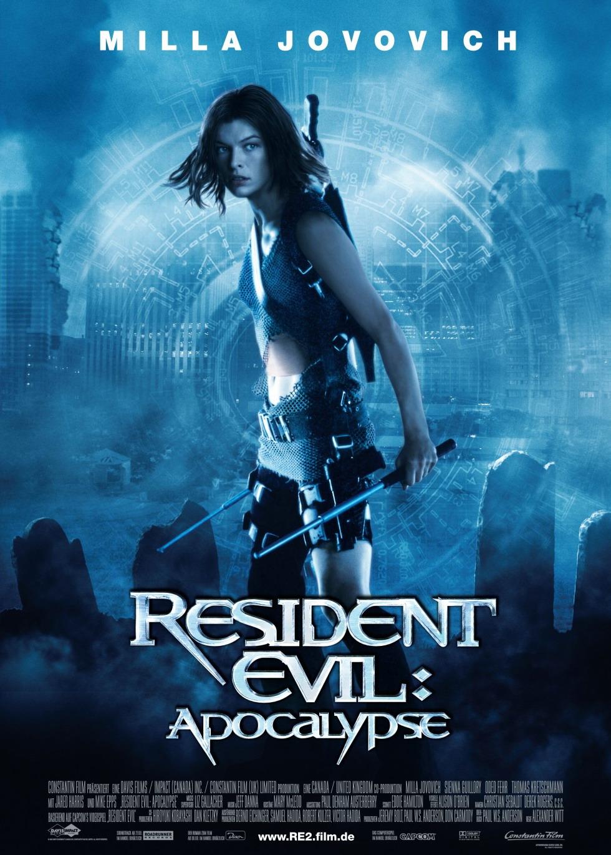 Resident Evil Apocalypse Poster
