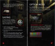 Resident Evil Instruction Booklet 11