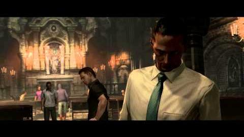 Resident Evil 6 all cutscenes - Tall Oaks Cathedral