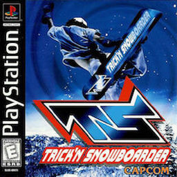 Trick'n Snowboarder PS Cover