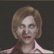 Degeneration Zombie face model 1