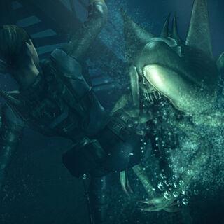 Нападение под водой
