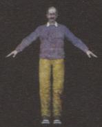 Degeneration Zombie body model 24