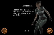 Mobile Edition file - Jill Valentine - page 1