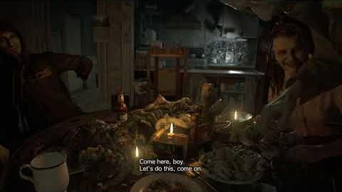 Resident Evil 7 biohazard all scenes - Dinner Time