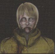 Degeneration Zombie face model 17