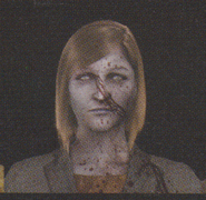 Degeneration Zombie face model 58