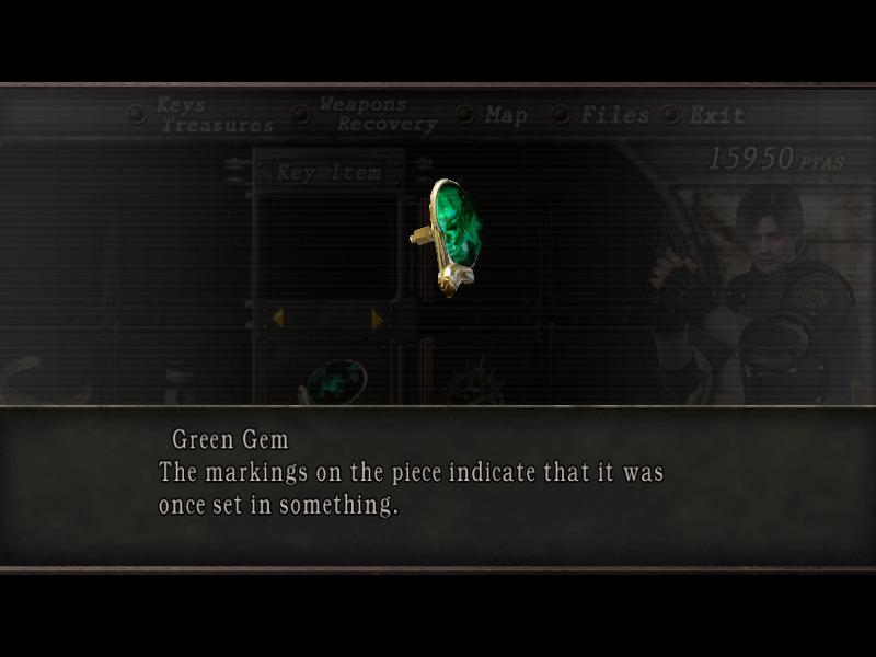 Green Gem Resident Evil Wiki Fandom