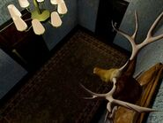 Original stuffed deer room BG 1
