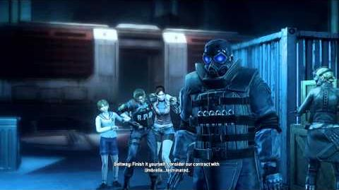 Resident Evil Operation Raccoon City all cutscenes - Against Umbrella (Beltway)