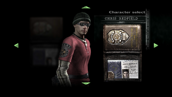 Chris Casual Character Select