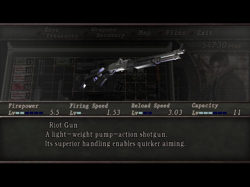 Riot Gun (RE4) | Resident Evil Wiki | FANDOM powered by Wikia