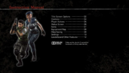 Resident Evil HD Remaster manual - Xbox 360 english, page1