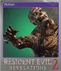 Rotten Foil Card