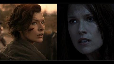 Alice and Claire - Please Don't Go Resident Evil