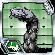 BIOHAZARD Clan Master - BOW card - Gulp Worm