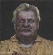 Degeneration Zombie face model 28