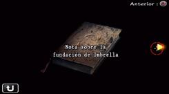 Notas sobre la fundación de Umbrella