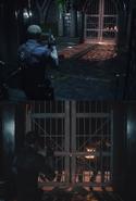 RE2 remake Entrance old vs new
