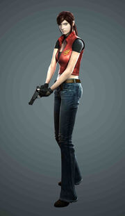 Resident Evil The Darkside Chronicles - Game of Oblivion - Claire Redfield render