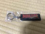 BIOHAZARD Nightmare keychain