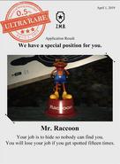 Zombieswanted mr. raccoon