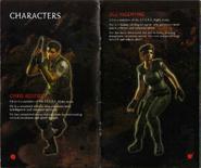 Resident Evil Instruction Booklet 5
