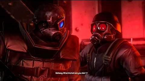Resident Evil Operation Raccoon City all cutscenes - HUNK goes back