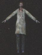 Degeneration Zombie body model 56