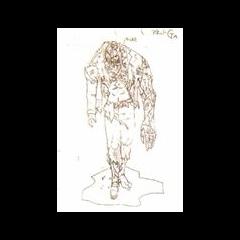 Концепт-арт того, как бы выглядела Аннет Биркин с клетками G-вируса из Resident Evil 1.5.