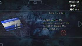 Tarjeta Llave Azul