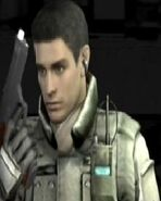 Resident Evil Umbrella Chronicles Chris Redfield Appearance