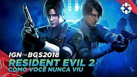 TUDO SOBRE RESIDENT EVIL 2 REMAKE (PS4, XBOX ONE, PC) IGN na BGS 2018