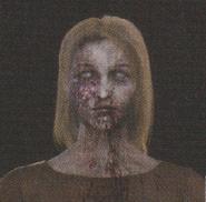 Degeneration Zombie face model 9
