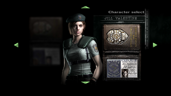 Jill S.T.A.R.S. Character Select