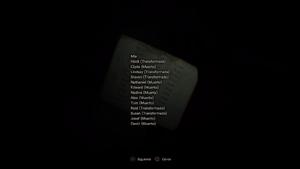 Lista de nombres (Reverso)