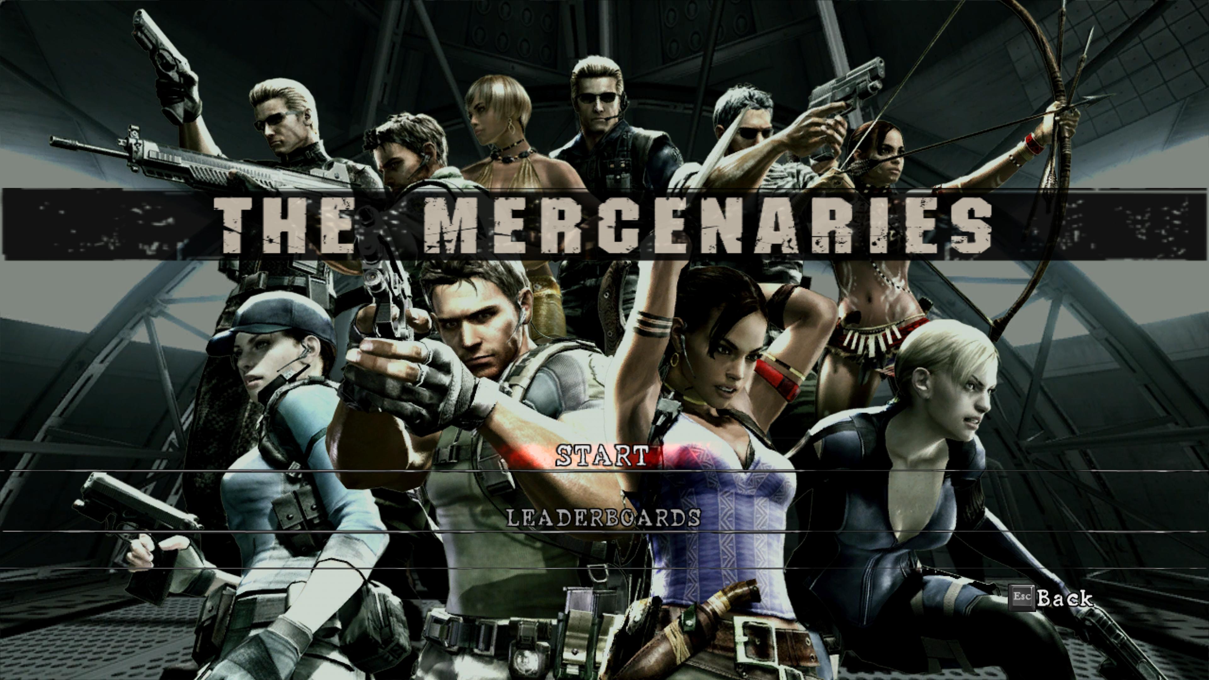 The Mercenaries Resident Evil Wiki Fandom