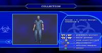 Resident evil outbreak george hamilton artwork ingame model 3d alternate costume (2)