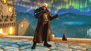 SFV Urien in Wesker RE5 costume