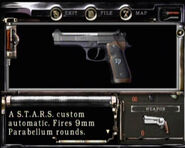 RE1 starshandgun