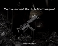 Resident Evil 0 Sub-machinegun unlock