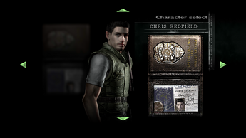 Chris S.T.A.R.S. Character Select
