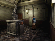 RE3 Stone statue corridor 4